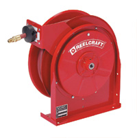 "Reelcraft 5635 OLP- 3/8"" x 35 Ft. - Spring Driven Air/Water/ Compact Hose Reel"