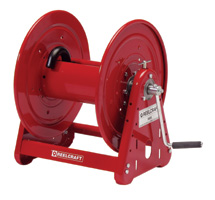 Reelcraft CA33112L - Hand Crank 100 Ft. Low Pressure Air/Water Hose Reel