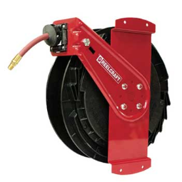 "Reeltek RT650-OLPSM- 3/8"" x 50 Ft.  Air Hose Reel"