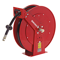 "Reelcraft TH88000 OMP  1/2"" x 50 Ft. - Spring Driven Twin Hose Hydraulic Reel"