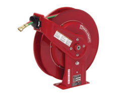 Reelcraft TW7450 OLP- 50 Ft. - Spring Driven Oxygen / Acetylene Hose Reels